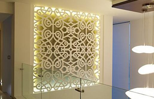 стеновые ажурные декоративные панели на заказ